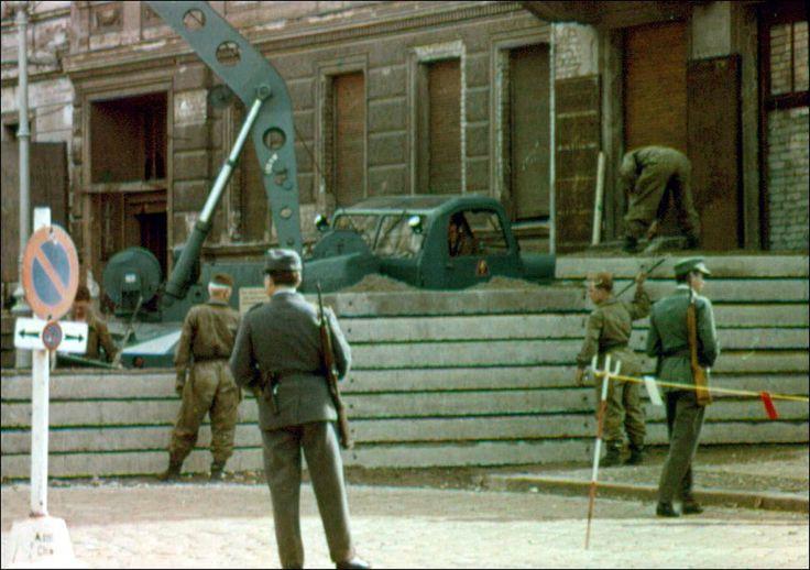 Building the Berlin Wall at Bernauer Strasse ca. 1963 | by CarlaCarlaCarlaCarla