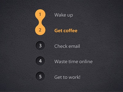 Dribbble - Daily grind by Andre Ortiz