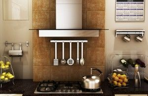 Ottimizzare spazi in cucina! #arredamento #arredo #cucina #arredamentocucina #mensole #cucinapiccola