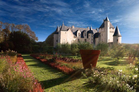 L'allée des fées. Château Du Rivau