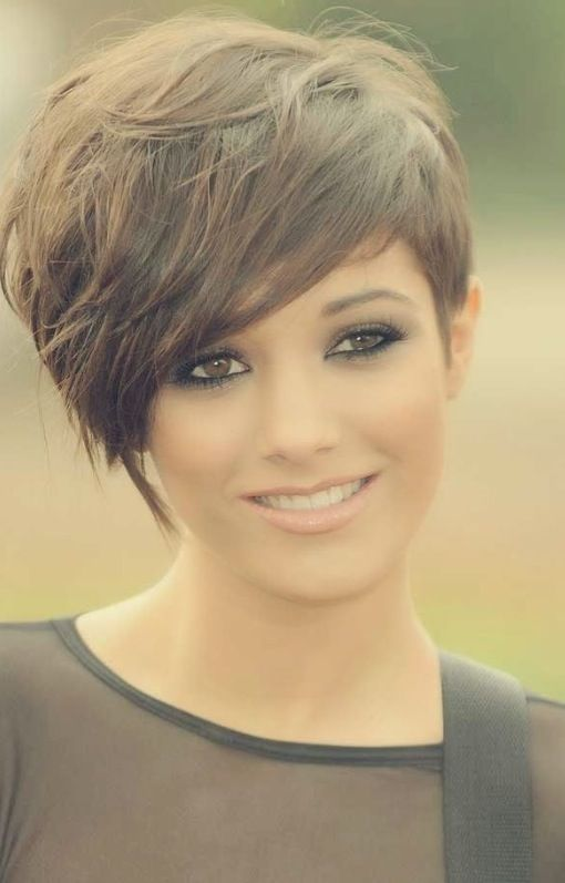 Within the next year or so my goal is to get my hair cut like this. I want to try something new.