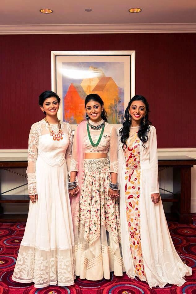 Sisters at a wedding, Indian wedding, Indian outfits