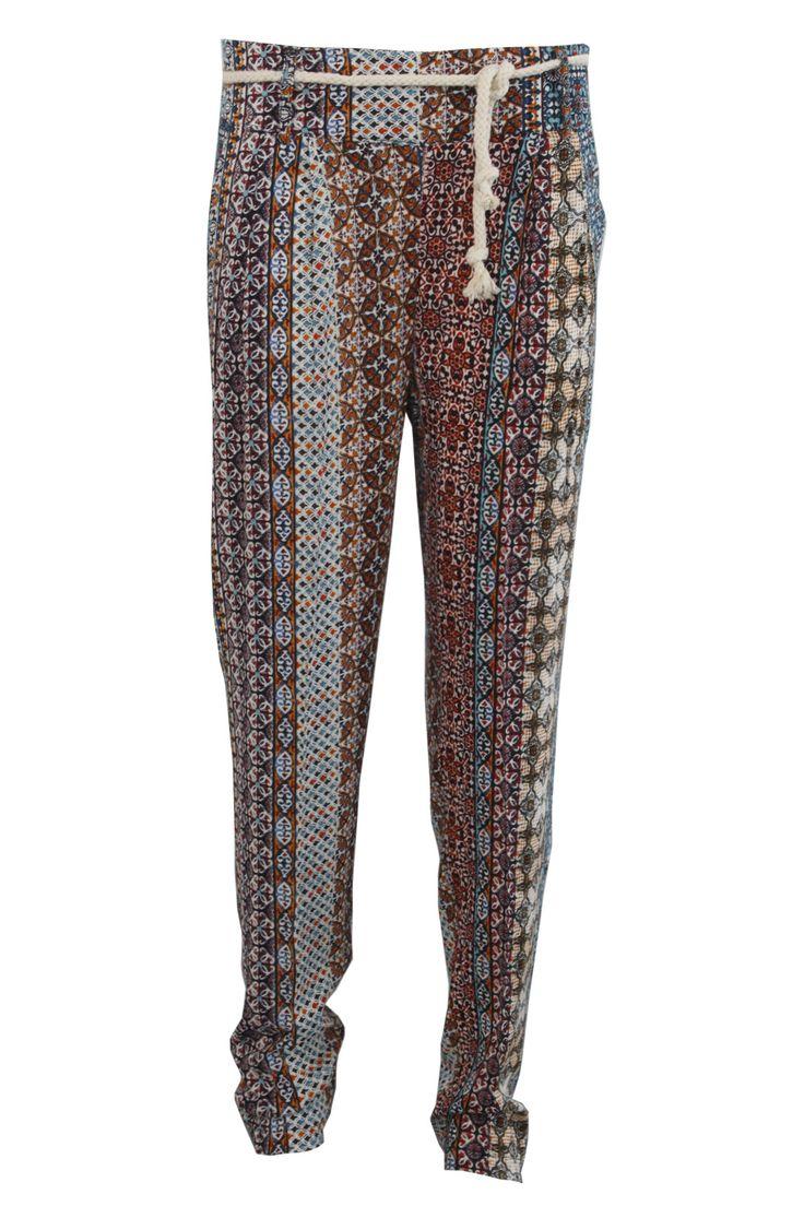Pantalone stampa etnica | Giorgia & Johns