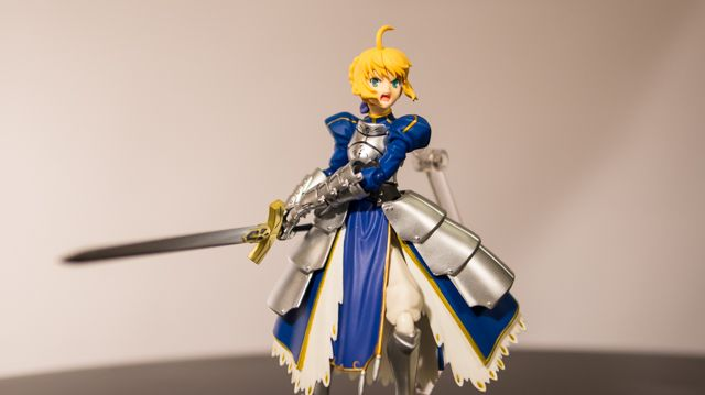 Toy review: Figma 227 Saber 2.0 (with video)