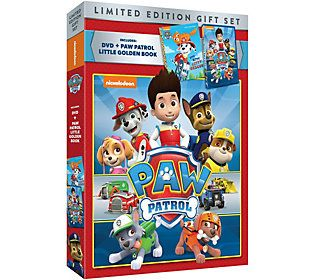 PAW Patrol DVD and Book Set