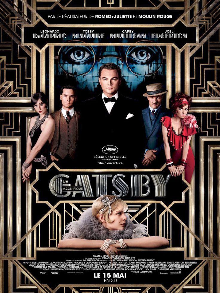 Gatsby le Magnifique, réalisé par Baz Luhrmann, avec Léonardo Di Caprio et Carey Mulligan, 2013.