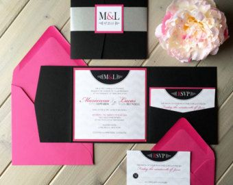 17 best ideas about pink wedding invitations on pinterest | blush, Wedding invitations