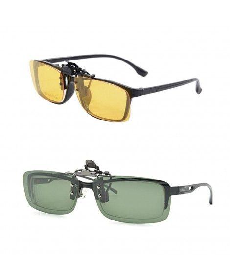 620d495fde Night Driving Clip Glasses Prescription - Driving Glasses Clip on ...
