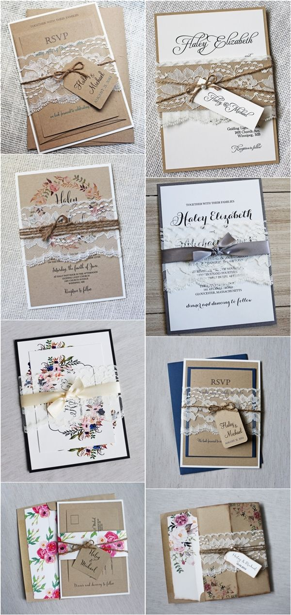 affordable and beautifully handmade wedding invitation kits