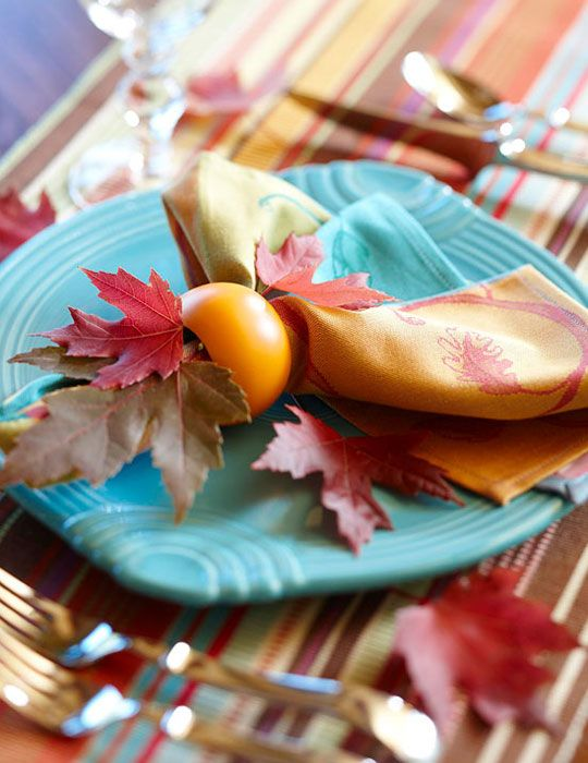 17 Best Ideas About Fall Table Settings On Pinterest