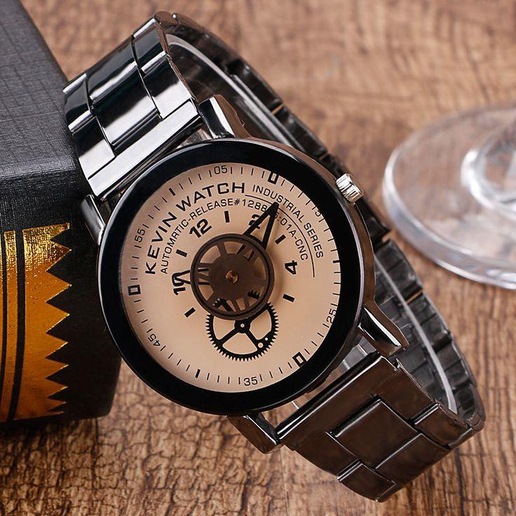 $4.78 (Buy here: https://alitems.com/g/1e8d114494ebda23ff8b16525dc3e8/?i=5&ulp=https%3A%2F%2Fwww.aliexpress.com%2Fitem%2FWrist-Watch-Wheel-Gear-Simple-Women-Dress-NEW-HOT-Special-Design-Trendy-Exquisite-Black-Sandy-Beige%2F32724333792.html ) 2016 Fashion KEVIN Brand Casual Analog Wrist Watch Gear Design Quartz Watches Men Women Black/Beige Clock Relojes for just $4.78