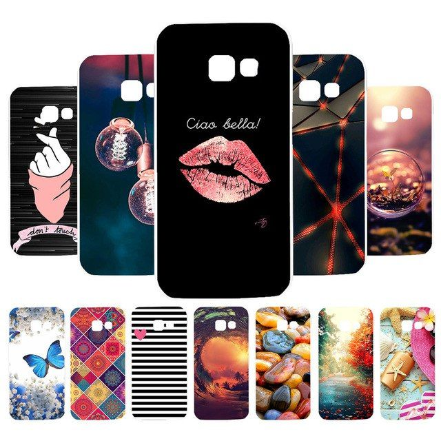Vanveet Case For Samsung Galaxy A3 2017 2016 Case Silicone Flamingo Painted Cover A310 A320 A300 Case Cover Fundas Coque Samsung Galaxy A3 Samsung Galaxy Case