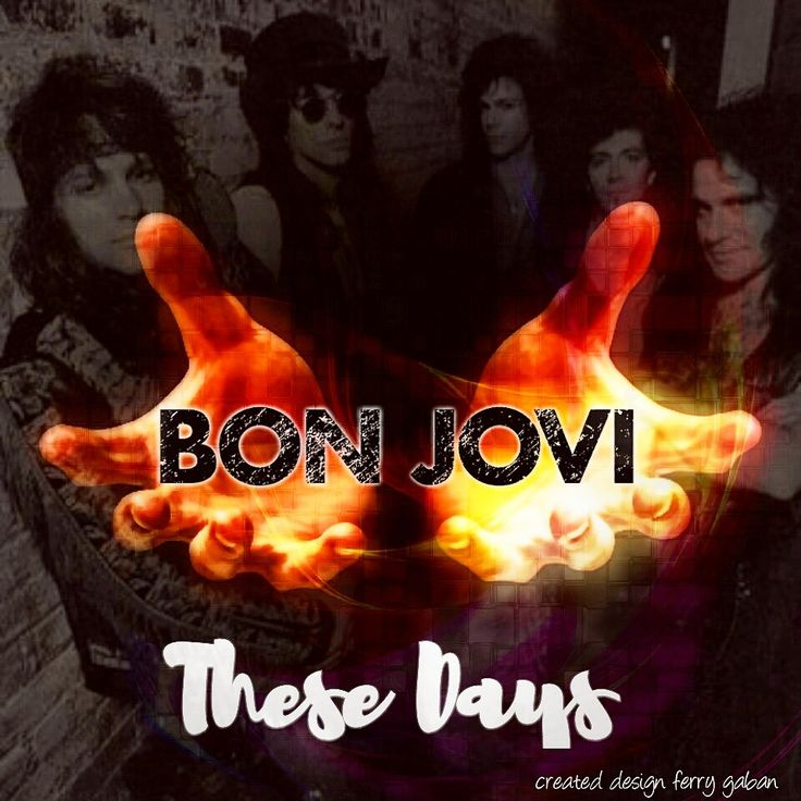 """greenlinedesign: """"""""These days """"(from these days album)….bonjovi 1995…part 1 #bonjovi #thesedays #album #thesedays #song #hardrock #heavymetal #glammetal #poprock #softrock #rockballads #balladsong..."""