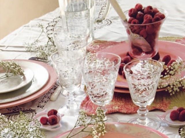 Dresser une belle table c est tout un art cuisine - Dresser une belle table ...