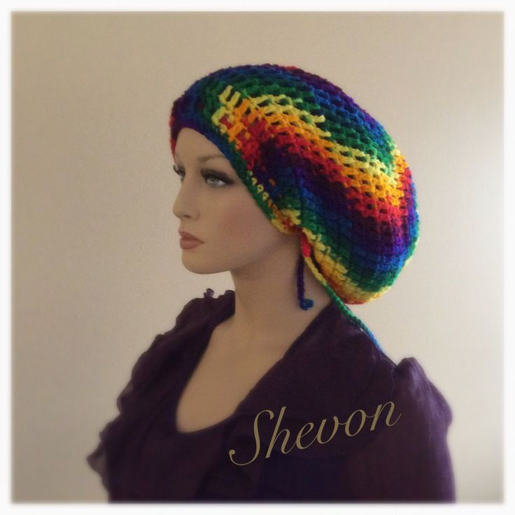 Crochet Mega Dreadlocks Rasta Tam. by ShevonL on Etsy