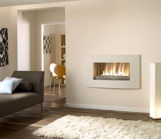Platonic Fireplaces - Hole in the wall fires and fireplaces form the original modern contemporary fireplace company.