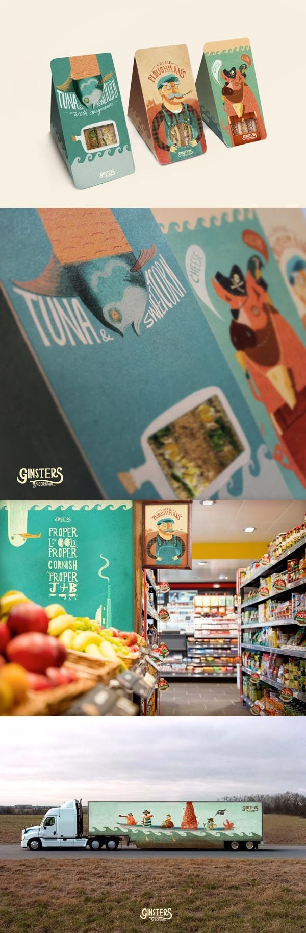 Ginsters Reinterpretation #identity #packaging #branding #marketing PD