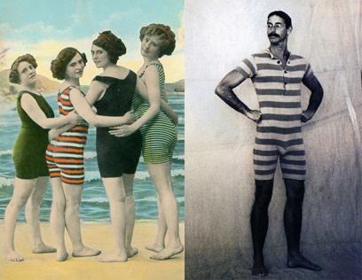 Купальные костюмы начала 20 века