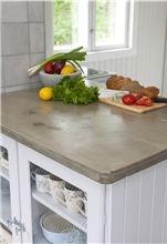 Kjøkkenbenk av betong