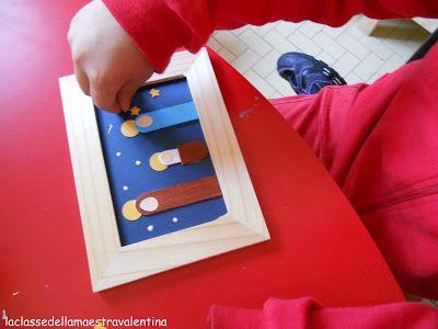 Ecco a voi il regalino di Natale che ho fatto realizzare ai miei bambini, un tenerissimo presepino: è fatto con abbassalingua e cartoncino...
