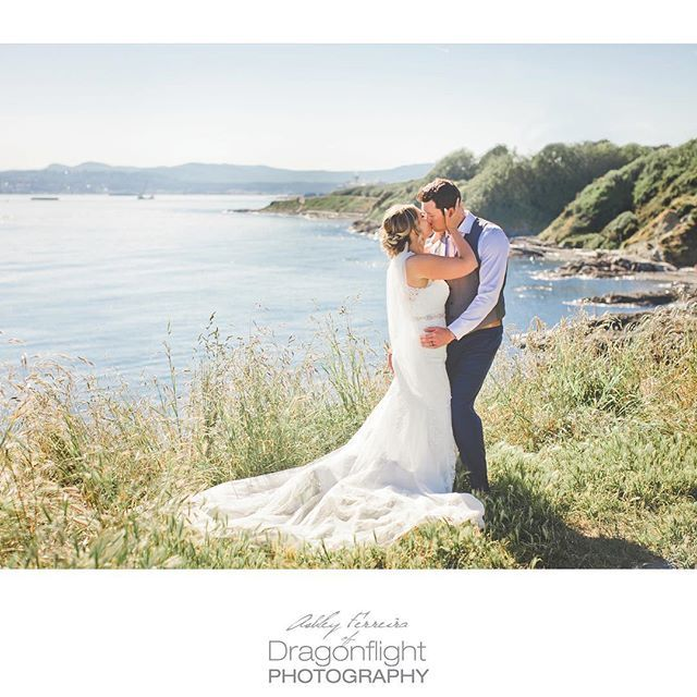 Victoria ocean wedding, victoria bc photo by @dragonflightphotography victoria, bc weddings