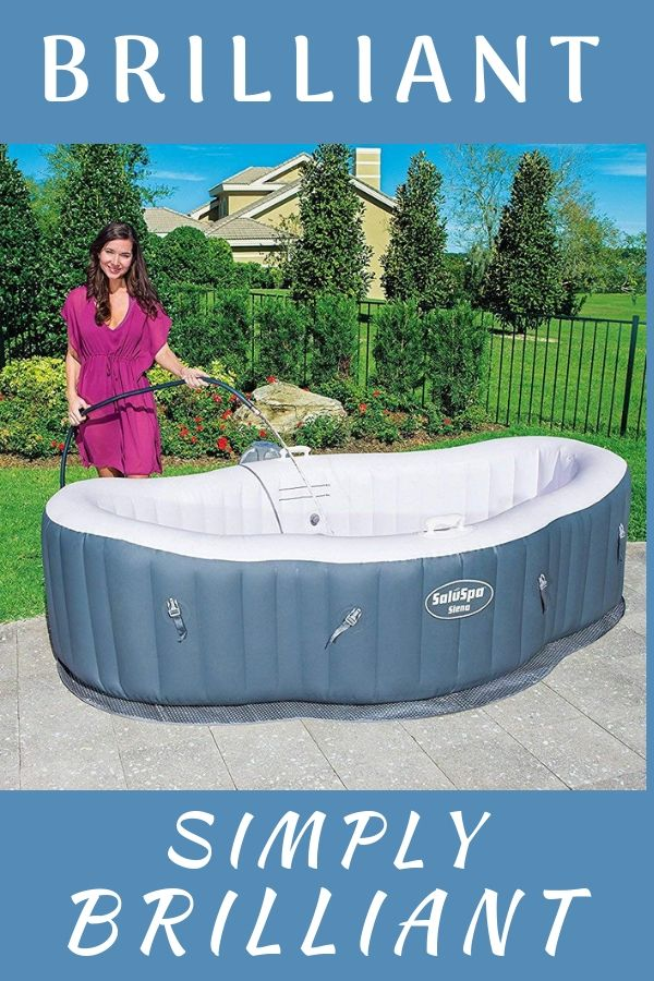 Inflatable Hot Tub Ideas Two Person Hot Tub On A Budget Portable And Lightweight Is This The Best Portable Hot Tub Inflatable Hot Tub Reviews Hot Tub Garden