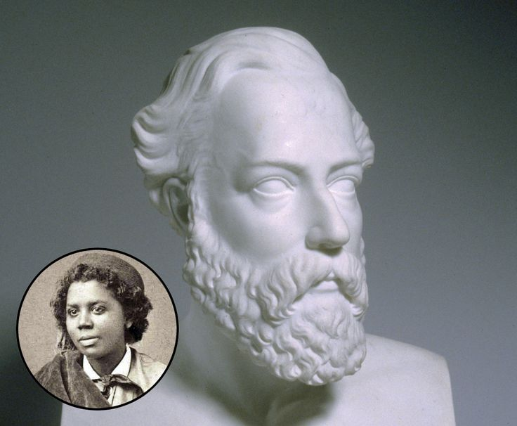 Edmonia Lewis (1844-1907) - neoclassical sculpture, beautiful smooth marble