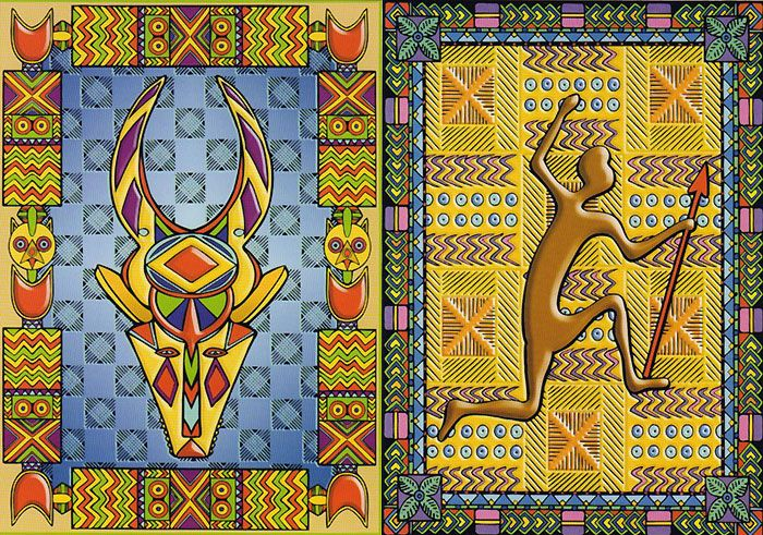 Африканский орнамент - Oksana Volkova - Picasa Webalbums