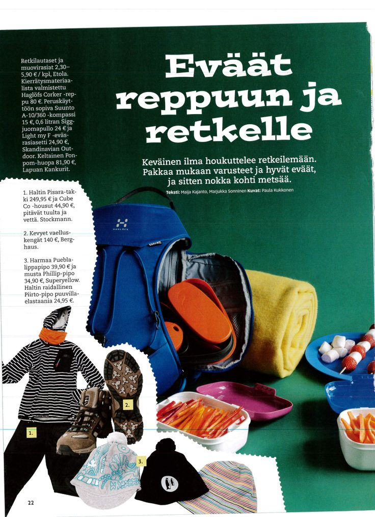 It is still beanie season in Finland.. As seen in Koululainen-magazine.