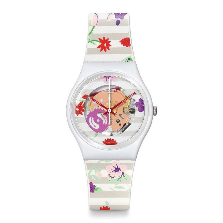 #Relojes #Swatch Blossoming Love. Referencia: GZ290. Estuche especial. Garantia: 2 Años. #outlet #tienda #online www.entretiendas.com