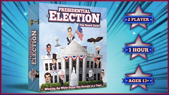 Presidential Election: The Board Game by All Over the Board Games — Kickstarter