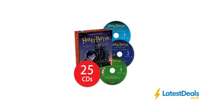 Harry Potter Books 1-3: Audio Collection - 25 CDs, £23.99 at The Book People