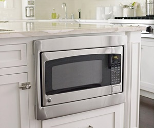 samsung microwave vent outside