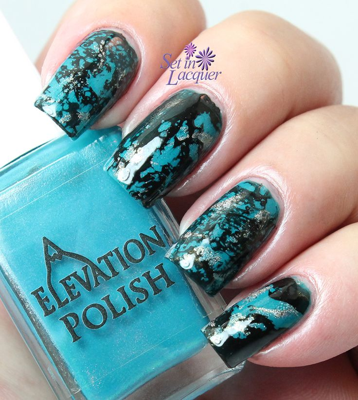1000+ Ideas About Turquoise Nail Designs On Pinterest