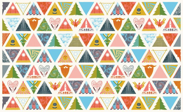 100+ ideas to try about Triangle Pattern | Triangle quilts ...