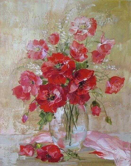 Foto: Artist ~ Oksana Kravchenko #painting