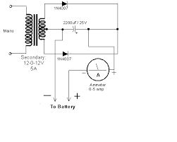 Image result for simple battery charger circuit diagram