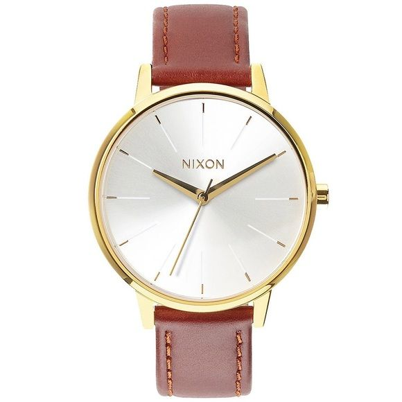 Nixon women's watch White face! Brand new! Comes with box. Nixon Accessories Watches