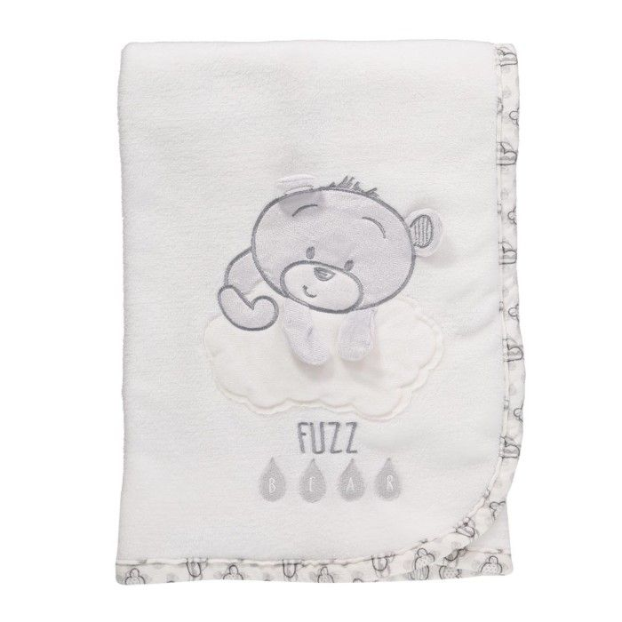 Fuzz Bear Fleece Blanket
