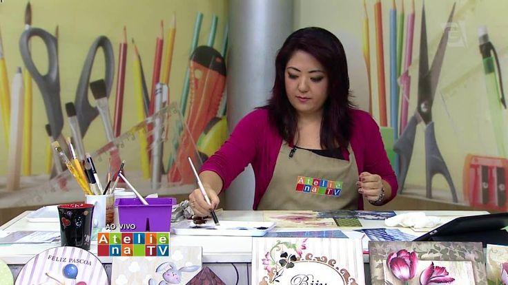 Ateliê na TV - TV Gazeta - 03.03.16 - Mayumi Takushi