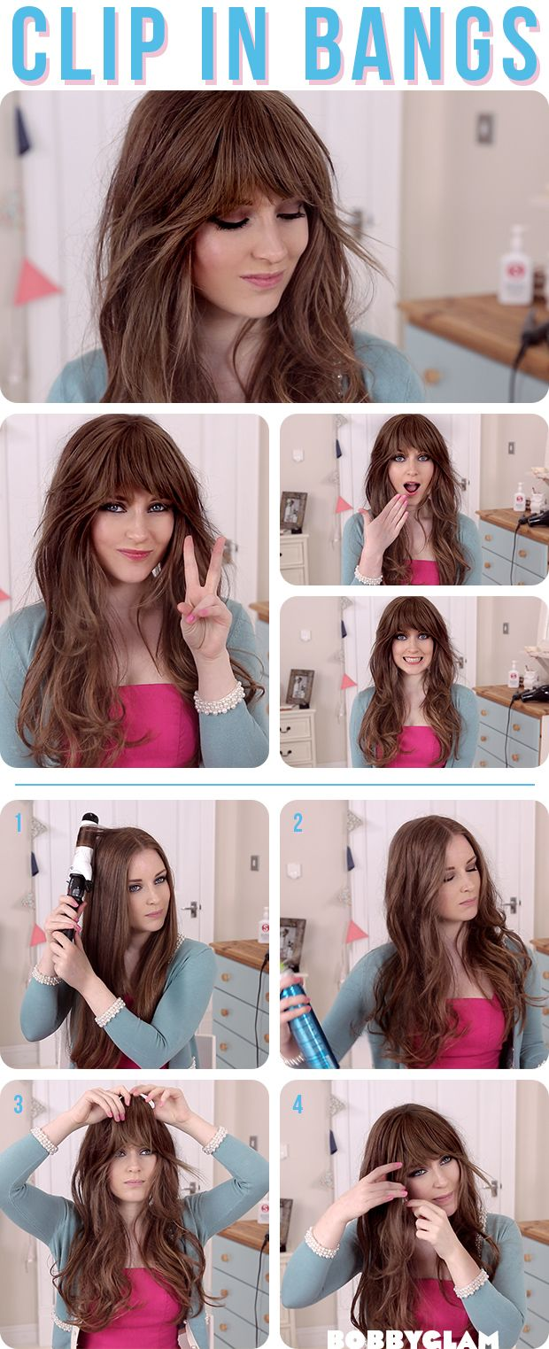 How to get a Look with Bangs without Cutting Your Hair