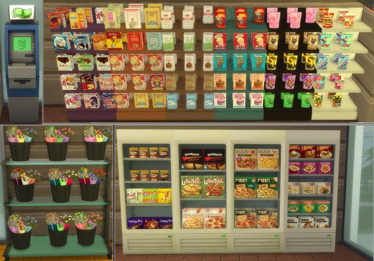 Sims  Food Cart Recipes