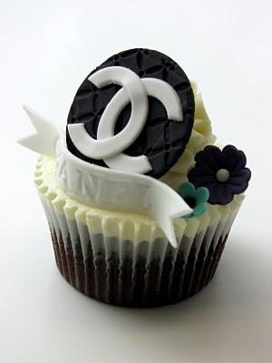Coco Chanel Cupcake