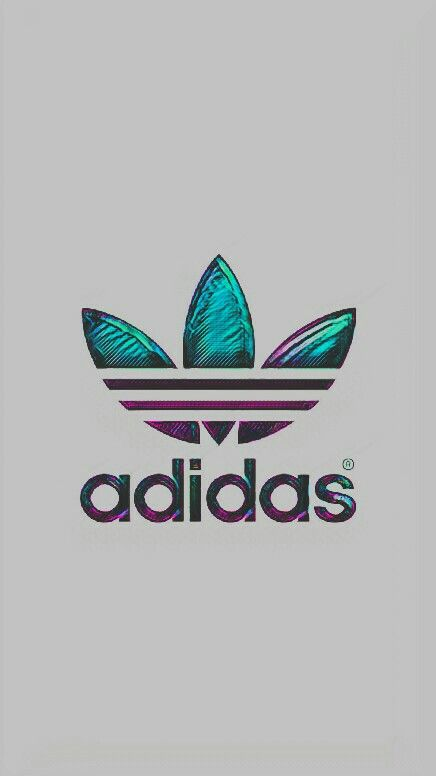 #adidas #wallpaper #background #grey #green #holographic #green #purple #adidasoriginal