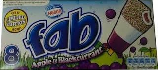 Nestle Fab - Apple & Blackcurrant