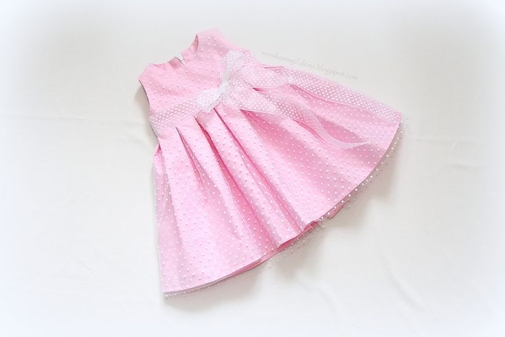 """Sukienka niemowlęca """"Oczarowana Ania"""" w Monika Magdalena  na DaWanda.com"""
