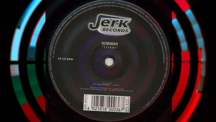 Gobiman (Oliver Lieb) - Formula | 90s TECHNO