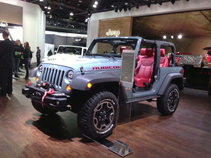 Jeep Wrangler Rubicon #NAIAS The Best Jeep Dealership in New Jersey…