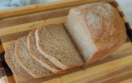 Recipe: Honey Whole-Wheat Sandwich Bread (for bread machine)