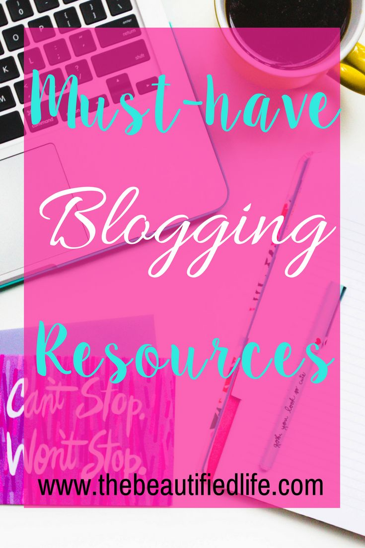 Must-have blogging resources to grow your blog and biz. These blogging tools and resources have helped me grow my blog and continue too